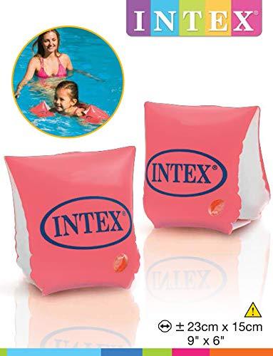 Bracelets de natation Intex Luxe - 3 à 6 ans - 23x15 cm