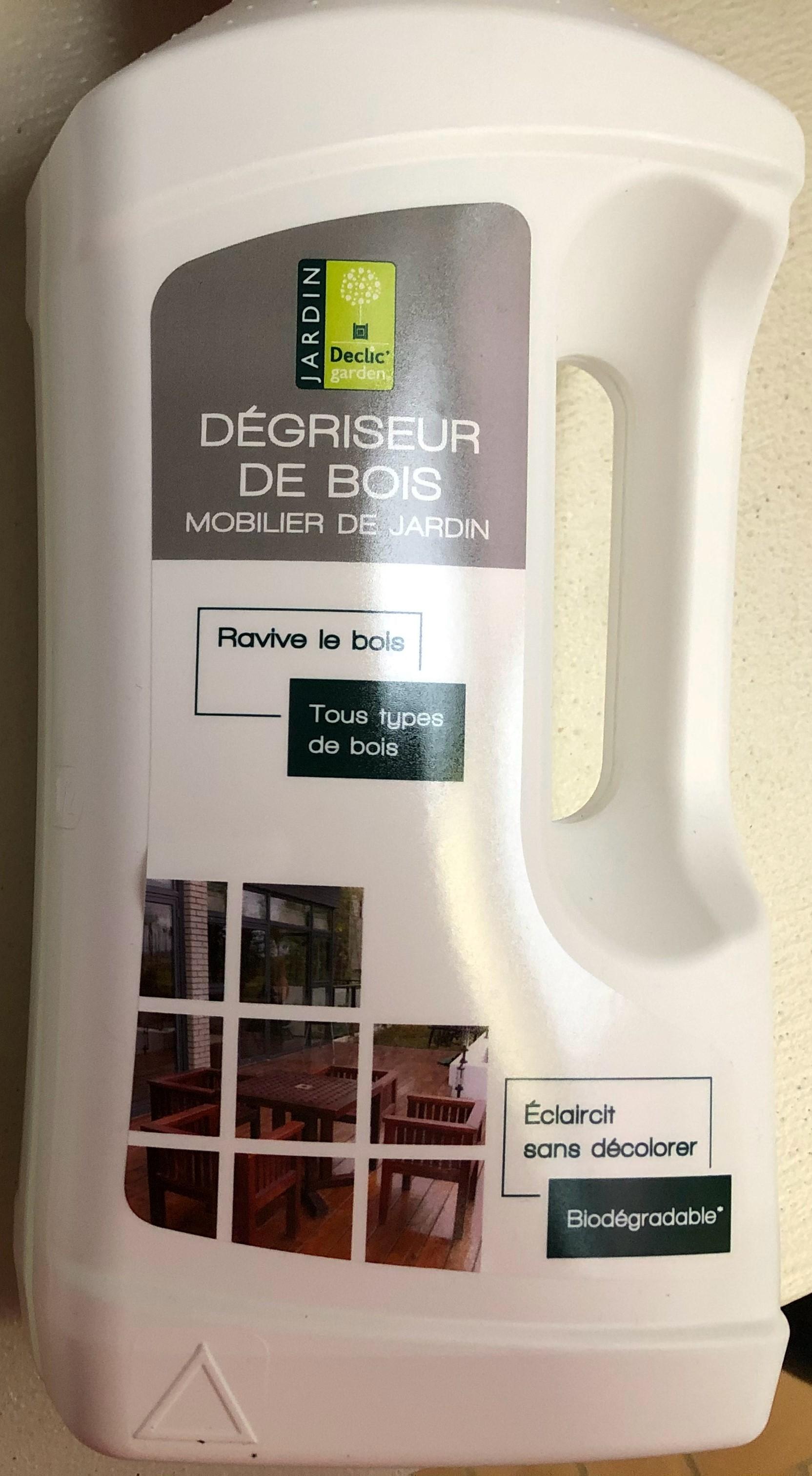 Bidon de dégriseur de bois pour mobilier de jardin Declic' Garden (1 L) - Proville (59)
