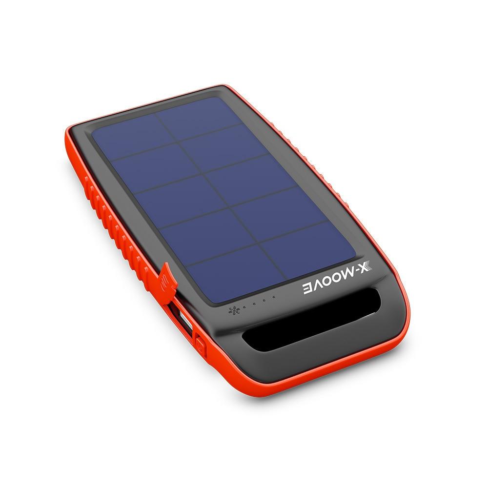 Batterie X-Moove Solargo PKT - Solaire, 10 000mAh