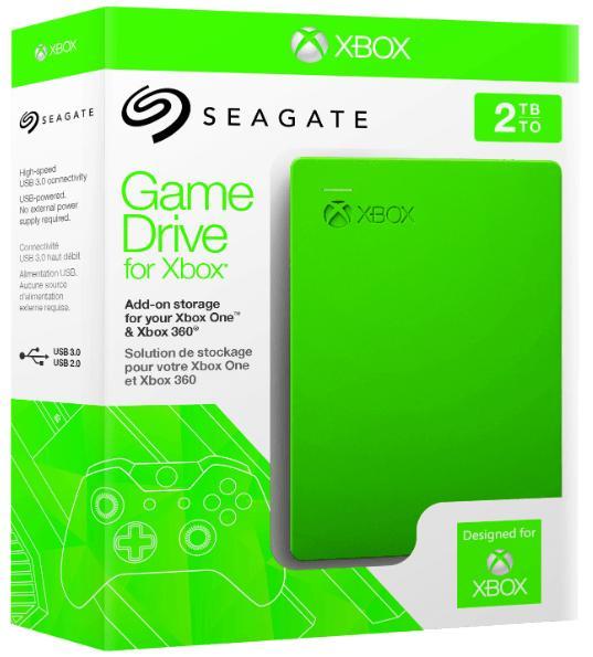 Disque dur externe Seagate 2To pour Xbox One / Xbox 360