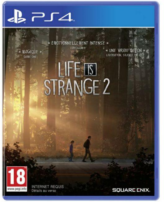 Jeu Life is Strange 2 sur PS4
