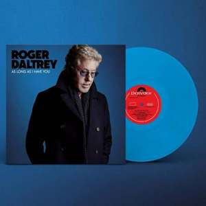 Vinyle Bleu Roger Daltrey (from The Who) - As Long As I Have You Coloured Limited Edition