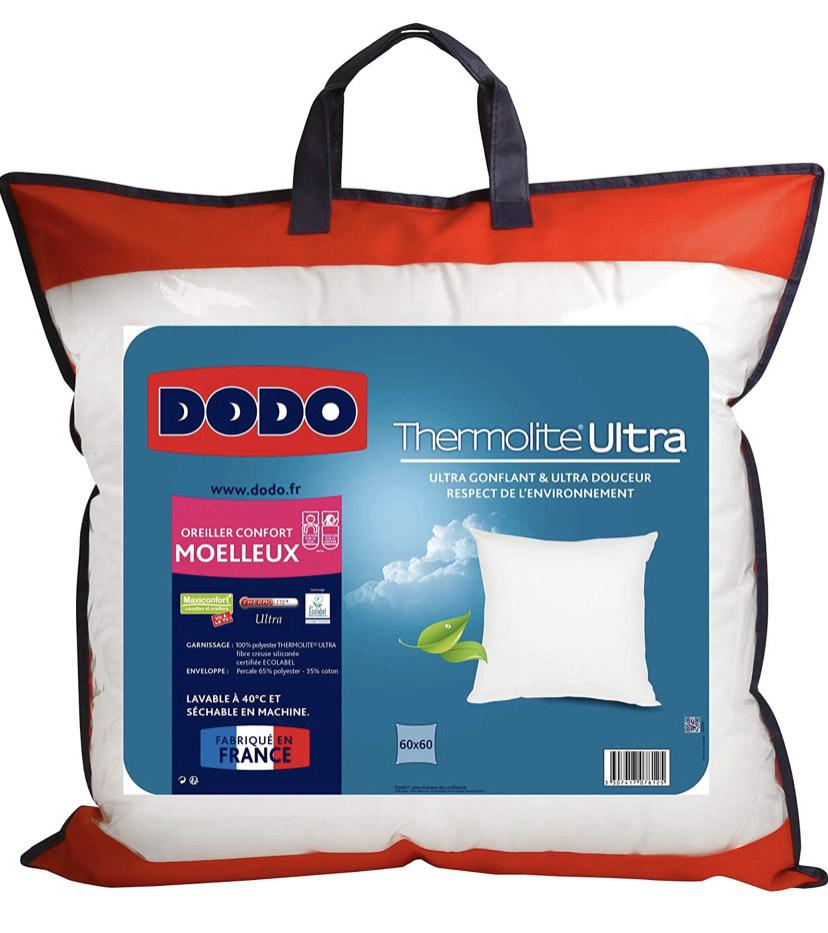 Oreiller Dodo maxiconfort thermolite ultra - 50 x 70 cm