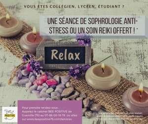 [Etudiants] Séance de 45 minutes de Sophrologie anti-stress ou Reiki gratuite - Guerville (76)