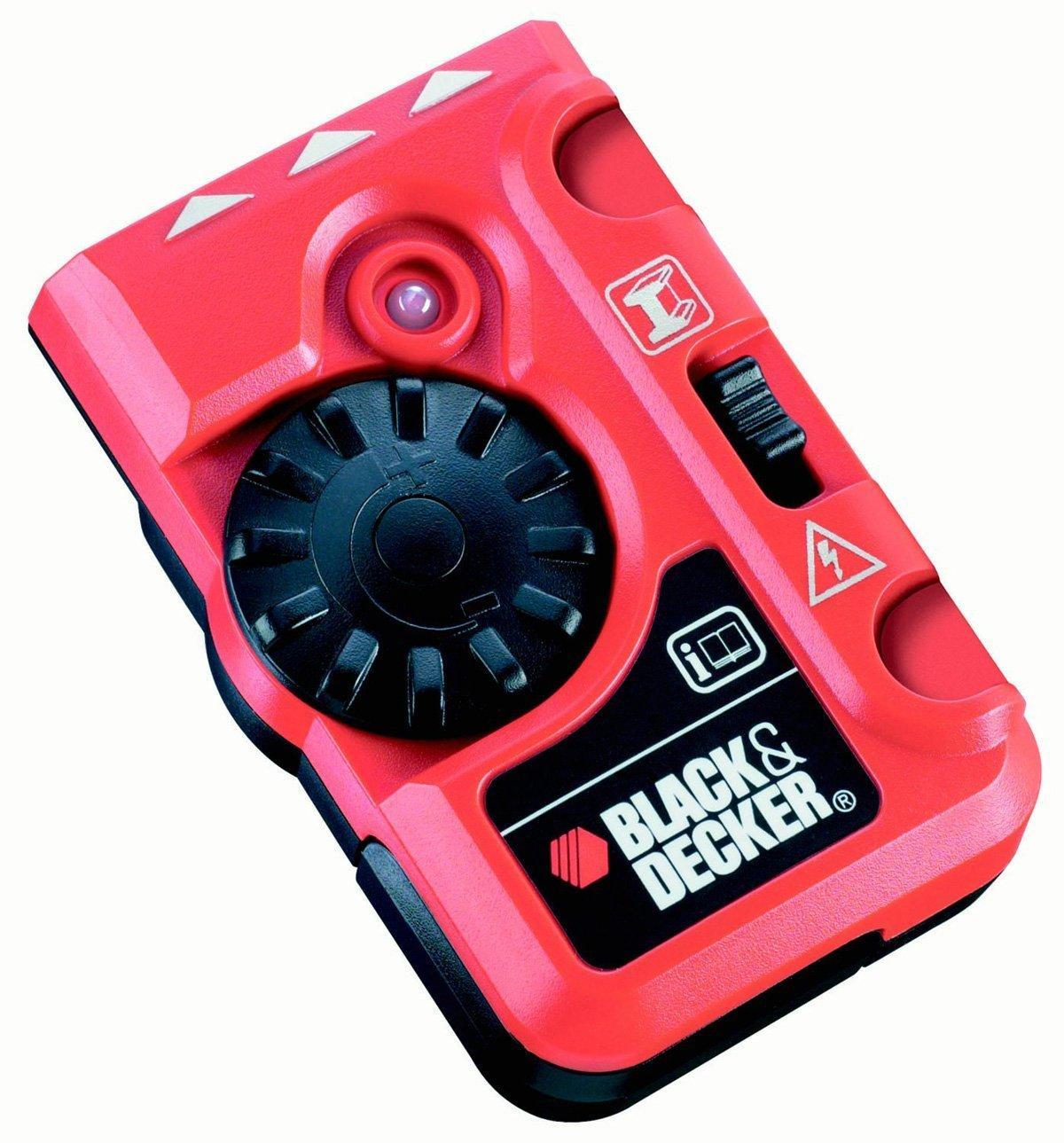 Détecteur de tuyaux et de câbles électriques Black & Decker BDS200