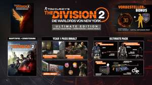 The Division 2 - Warlords of New York : Ultimate Edition sur PC (Dématérialisé - Ubi Connect)