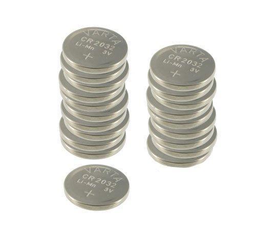 Pack de 20 piles boutons lithium Varta CR2032