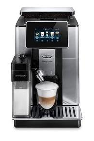 Machine à café avec broyeur à grains Delonghi Primadonna Soul ECAM610.55.SB - 1450W, Gris