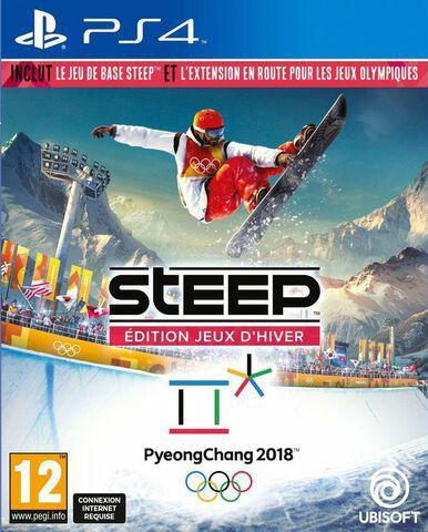 Steep - Édition Jeux d'Hiver 2018 (jeu + extension) sur PS4 (+ 0.3€ en Rakuten Points)
