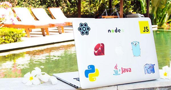 3 Stickers de développeur gratuits (au choix)