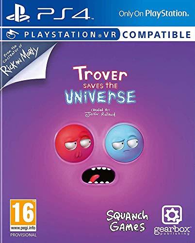 Jeu Trover Saves the Universe sur PS4/PSVR (vendeur tiers)