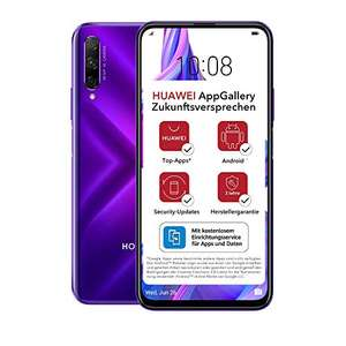 "Smartphone 6.59"" Honor 9x Pro (Sans Services Google) - Full HD+, Kirin 810, 6 Go de RAM, 256 Go Phantom Blue"