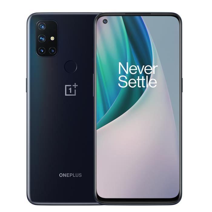 """Smartphone 6.49"""" OnePlus Nord N10 5G - 128Go, 6Go de Ram (Vendeur Tiers - Expédié par Cdiscount)"""