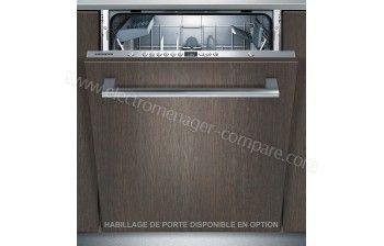Lave vaisselle encastrable Siemens SN636X00AE - 12 couverts, 48 dB, A+, L60 cm, Moteur induction