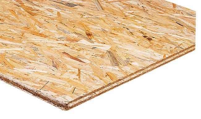 Dalle de plancher épicéa osb 3 SWISS KRONO - 3 plis, 18mm x 250 x 67.5 cm
