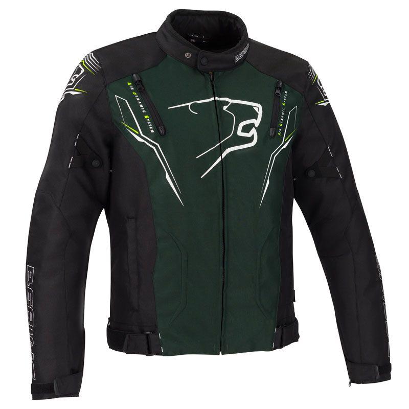 Blouson moto homme Bering Tiberius 600D - Taille L en fibretech