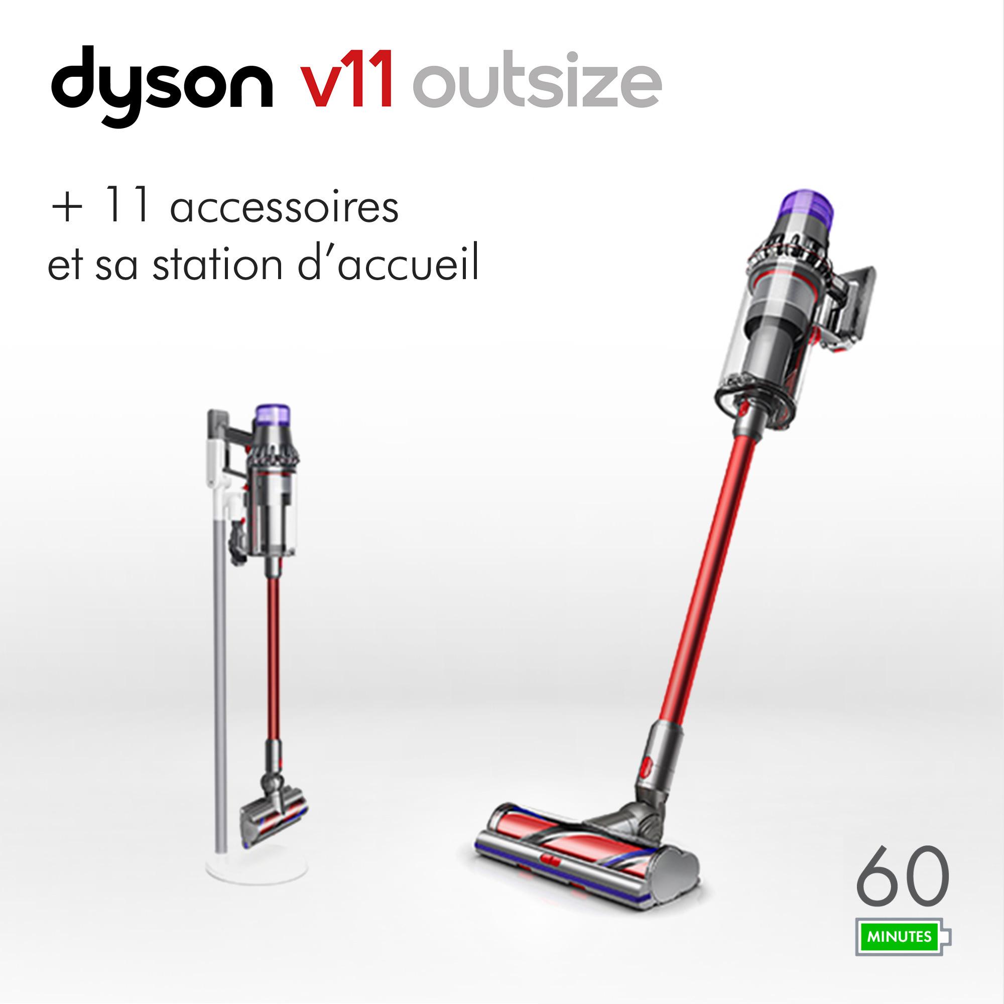Aspirateur balais Dyson V11 Outsize + station d'accueil