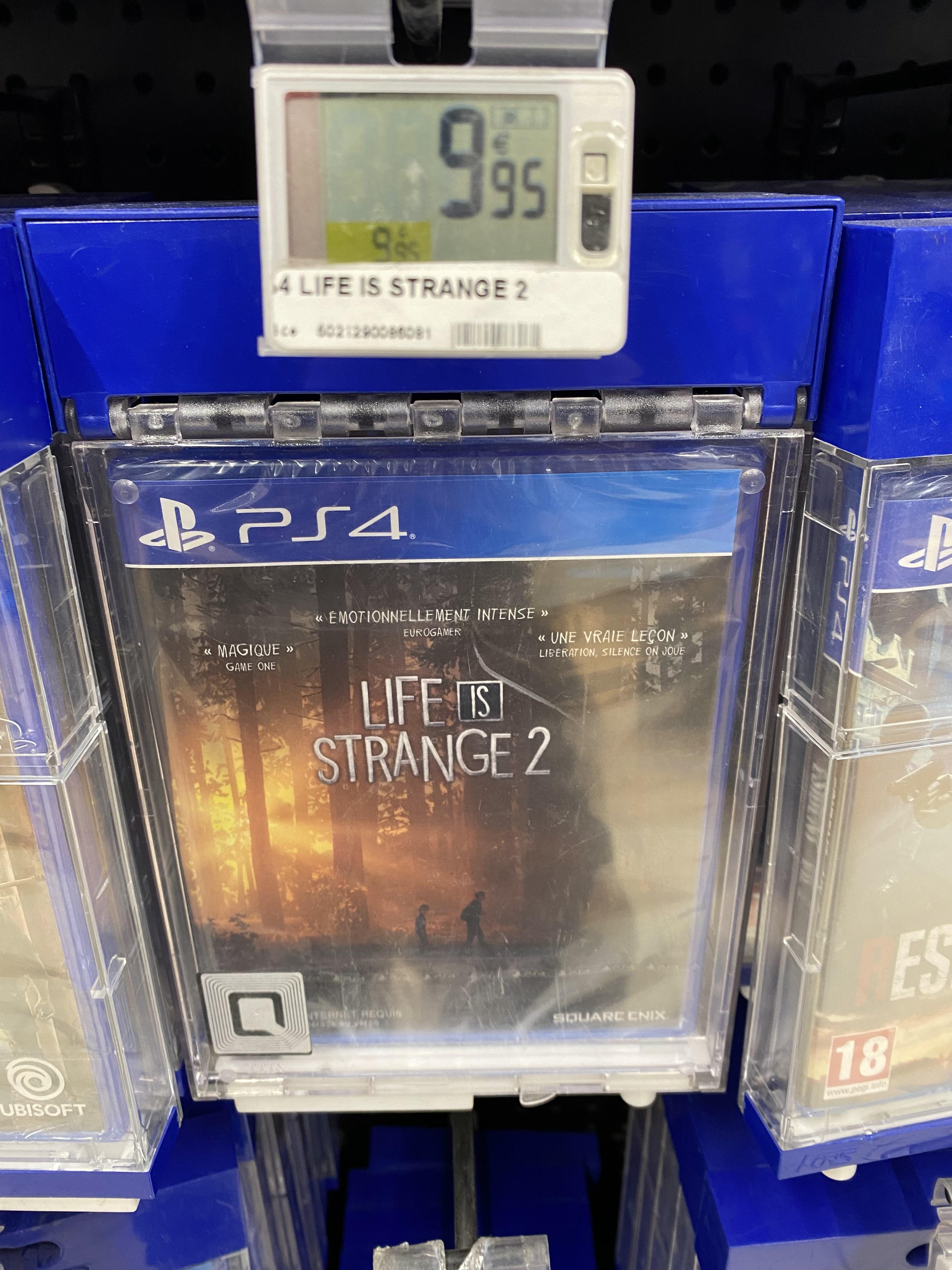 Jeu Life is Strange 2 sur PS4 - Carrefour Nice lingostière (06)