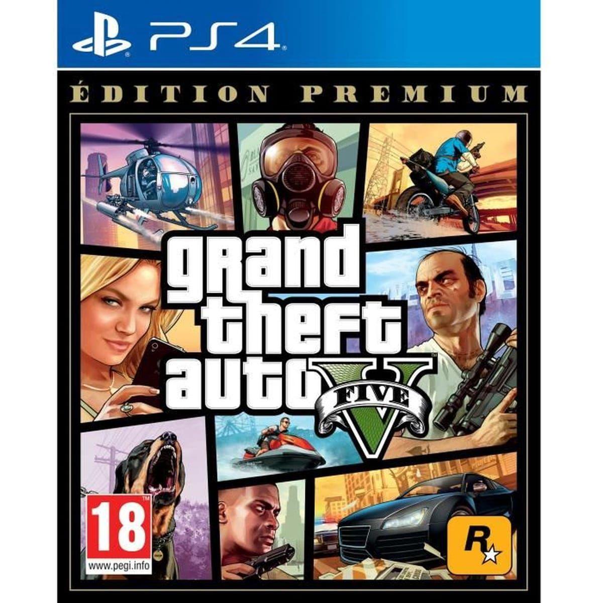 GTA 5 - Edition Premium Online sur PS4