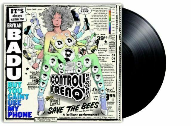 Vinyle LP Erykah Badu - But You Caint Use My Phone Control
