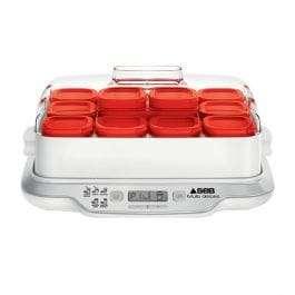 Yaourtière Seb multi délices express 12 pots rouge YG661500