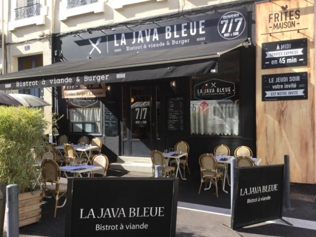 [Etudiants] Burger à 1€ tous les Jeudis à 12h au restaurant - La Java Bleue à Saint-Etienne (42)