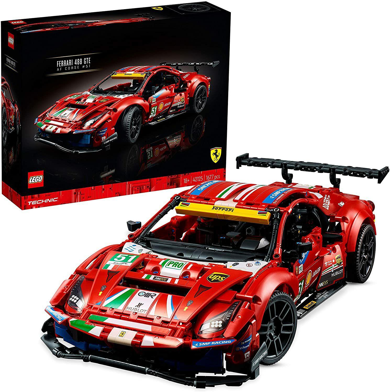 "Lego 42125 Technic Ferrari 488 GTE ""AF Corse #51"""