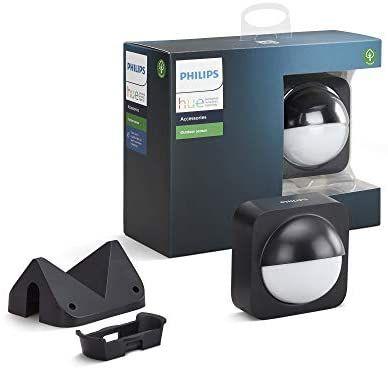 Philips Lighting Hue Détecteur de mouvement Extérieur Noir (Tous frais inclus)