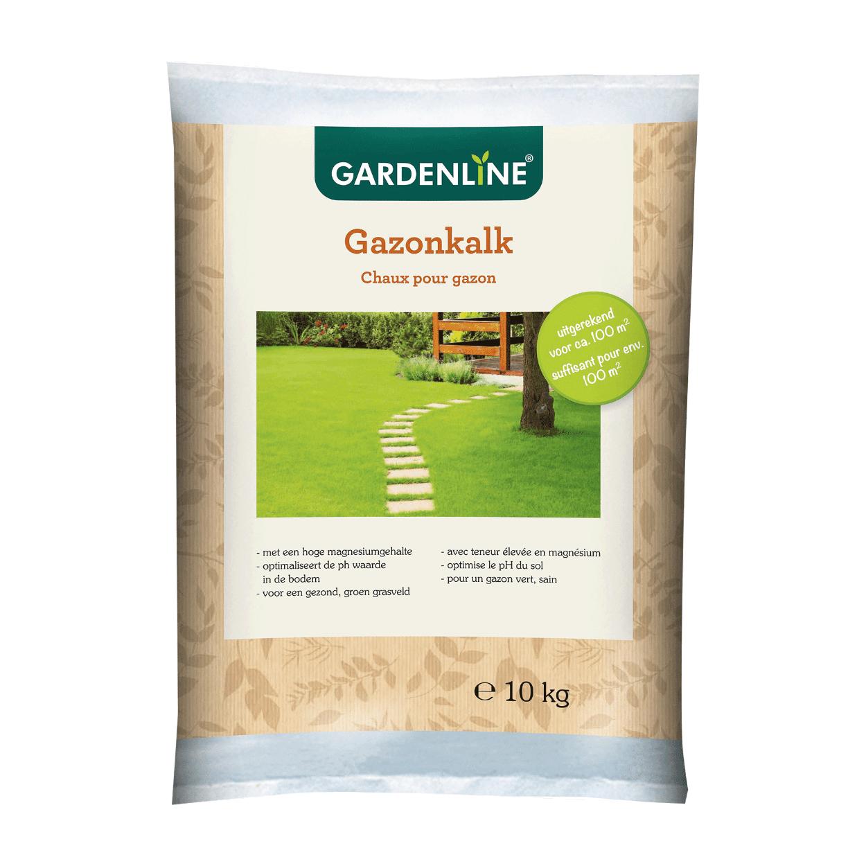 Chaux pour gazon Gardenline - 10Kg