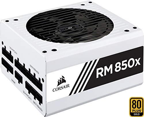 Alimentation PC modulaire Corsair RM850x - 80+ Gold, 850W - Blanche