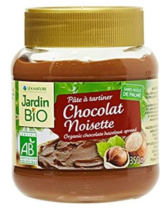 Pâte à tartiner chocolat noisette Léa Nature Jardin Bio - 350g