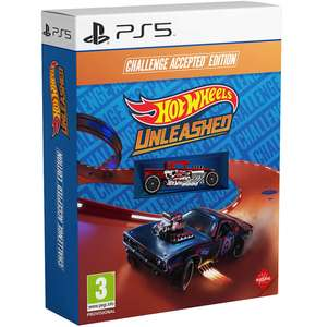 Hot Wheels Unleashed - Challenge Accepted Edition sur PS4-PS5 / Xbox / Switch.