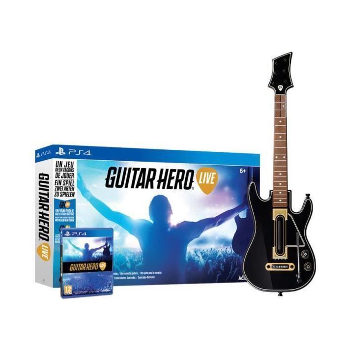 Guitar Hero Live sur PS4, Xbox One, PS3 (via 29.50€ sur carte fidélité)