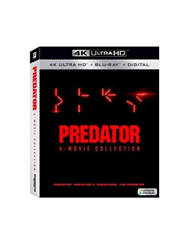 Coffret Blu-Ray 4K UHD + Blu-Ray Predator : L'intégrale des 4 Films (Frais d'importation compris)