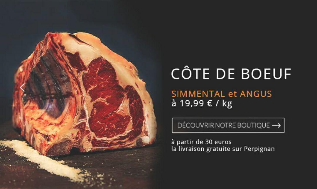 1 kg de côte de bœuf Angus ou Simmental (maison-pare.com)