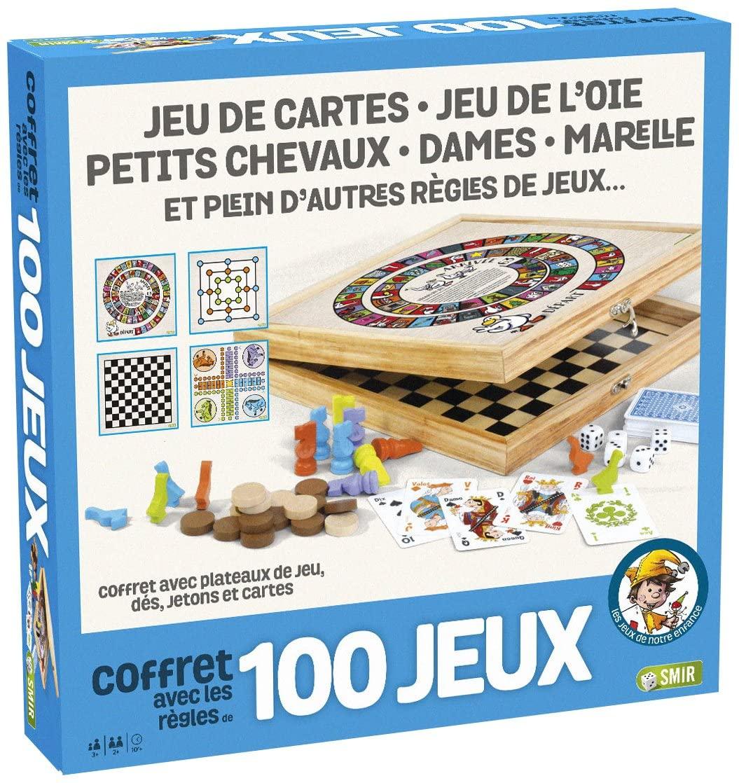 Coffret de jeux de société France Cartes