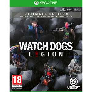Jeu Watch Dogs: Legion Ultimate Edition sur Xbox One & Series S/X