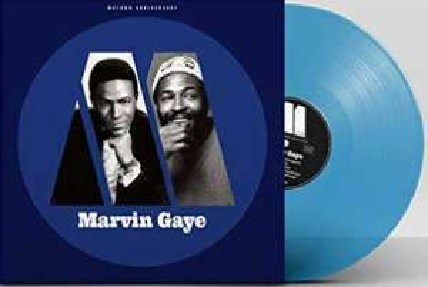 Vinyle Marvin Gaye - Motown Anniversary (LP, Comp, Mono, Ltd, Blu) Edition Limitée