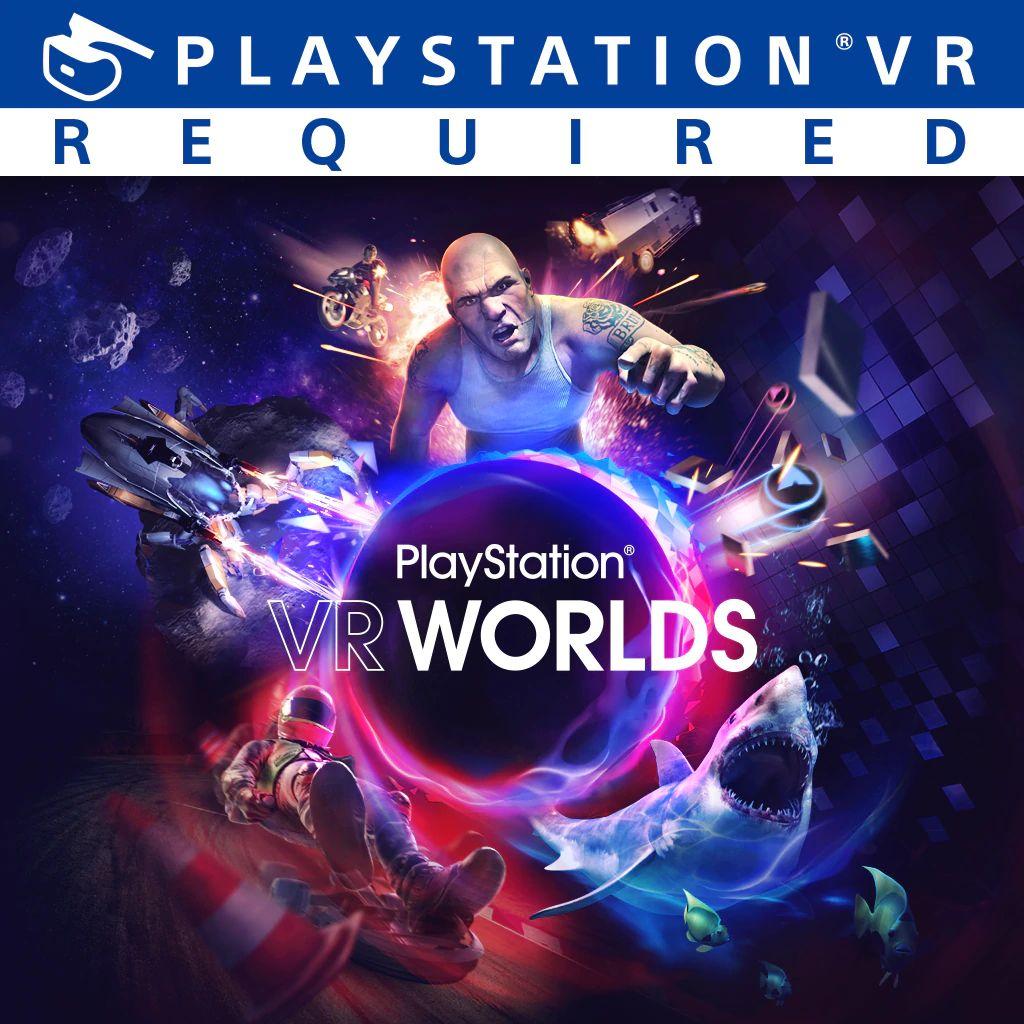 VR Worlds sur PS4 (dématérialisé)