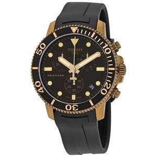 Montre chronographe à quartz Tissot Seastar 1000 C (T120.417.37.051.01) - Boitier: 45.5mm (Taxes et frais de port inclus)