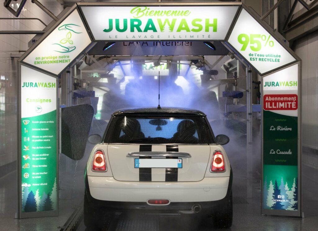 Abonnement mensuel Lavage auto illimité sans engagement - Jura Wash Choisey (39)