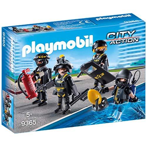 Jouet Playmobil city Action (9365) - Policiers d'Élite