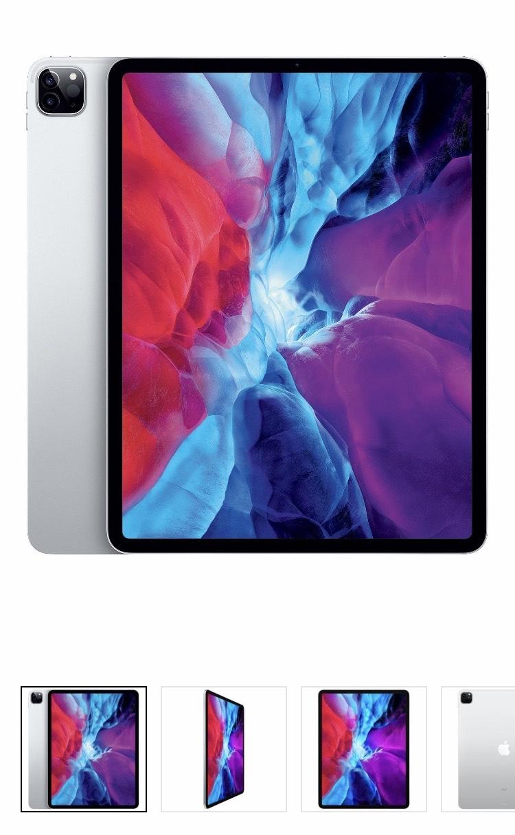 "Tablette 12.9"" Apple iPad Pro - Wi-Fi, 256 Go, Argent (+29,55€ en RP)"