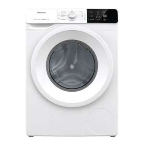 Lave linge à hublot Hisense WFGE80141VM - 8 kg, 1400 trs/min (Via ODR de 50€)