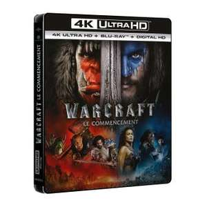 Blu-Ray 4K UHD Warcraft Le Commencement