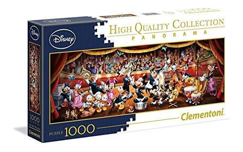 Puzzle Disney Panorama Collection : Orchestre - 1000 Pièces
