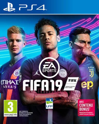 FIFA 19 sur PS4 (Via retrait dans une sélection de magasins)