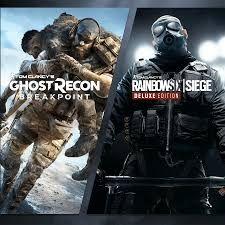 Bundle Ghost Recon Breakpoint + Rainbow Six Siege sur Xbox (Dématérialisés - Store Brésilien)