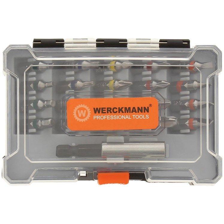 Set d'embouts Werckmann (21 pièces) + boîte de rangement