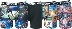 Lot de 4 boxers Freegun pour Homme (ou 8.90€ pour Enfant)